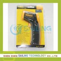 Free shipping 6pcs/lot, smart sensor AR330/AR330+ Infrared Thermometer -32~330C ,Retail Wholesale
