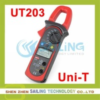 Free shipping UNI-T Digital Clamp Meter Multimeter UT203 UT-203,Retail Wholesale