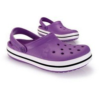 wholesale 2012 selling cro1Purple Crocband Men`s Women`s Shoes  unisex shoes slipper sandal baboosh 10color