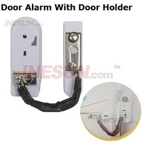 Security Home Door alarm with door holder