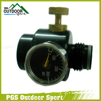 Paintball CO2 & COMPRESS AIR REGULATOR 0-150PSI
