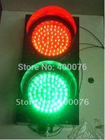 100mm stop or go  traffic light   solar traffic light