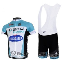 2012 fangle Quickstep team short Sleeve bike cycling Jersey+BIB shorts set cycling bicycle cycle bike wear clothing