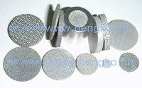 D15.9*H2.99Stainless steel 316L powder sintered filter disk