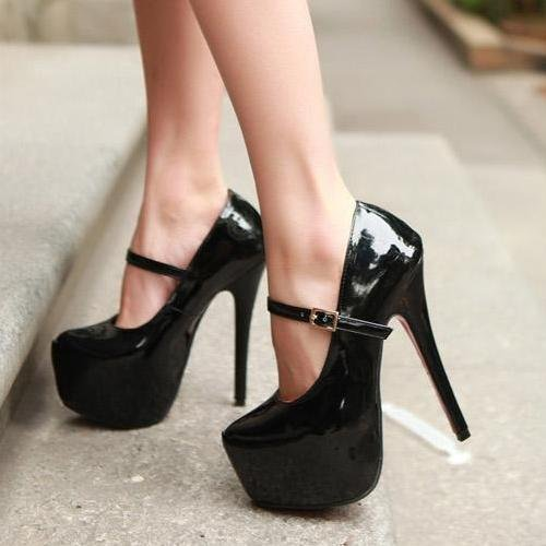 Patent Leather High Heels