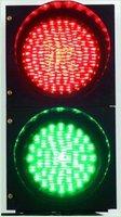 LED traffic light two lamp