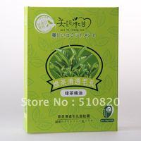 Free Shipping Beauty promise 10pcs Facial Mask deep clean Facial Mask  Green tea Face Mask 02