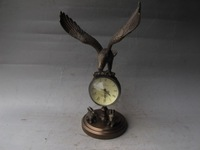 rare vintage copper mechanical clock, very unique,best collection. best adornment,free shipping