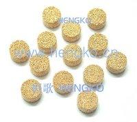 D8.1*H1.2 Stainless bronze powder sintered filter disk