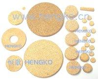 D9.7*H1.4 Stainless bronze powder sintered filter disk