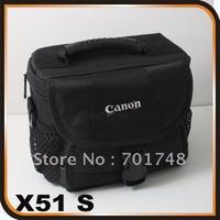 Free shipping SLR DSLR Camera Case Bag for Canon 1000D 550D 500D 450D