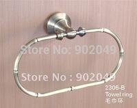 Towel Ring Bathroom Enclosures Oval Towel Hooks Bar Accessories Free Shipping KG-2306-B