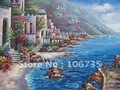 Sea view oil painting hot sale online