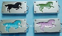 8GB Horse Crystal Free shipping Factory direct selling ,1-32GB Mini Bling Jewel Flash Drive