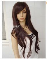 "ong Dark Brown Lace Wig ""Aaliyah ""  FREE SHIPPING    Brazilian fashion"