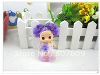 Action Figure Doll Toy Keychain,Mobile phone chain Cute confused mini  Dolls mobile phone pendant  12cm hot sale M844  20pcs/lot