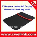 "7"" Neoprene Laptop Soft Carrying Sleeve Case Cover Bag Pouch"