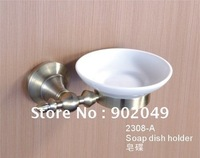Soap Dish Holder Bath Room Enclosures Wall-mounted Zinc Fitting Soap Dish KG-2308-A Bathroom Accessories Free Shipping