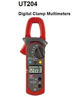 Free Shipping, UT204 3 3/4 Digital ACA & DCA Max. Conductor Diameter 28mm Clamp Multimeters with True RMS