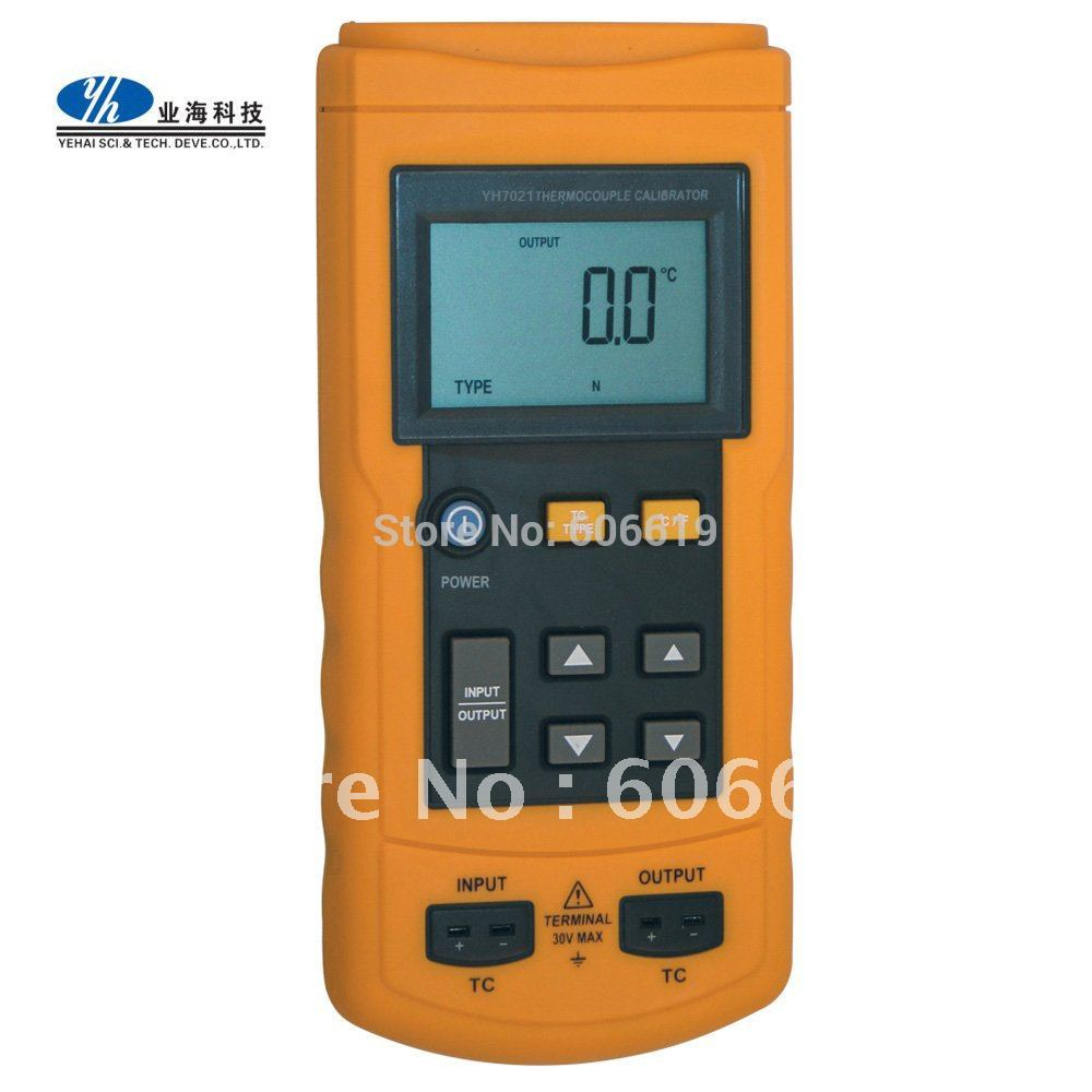 High Accuracy Thermocouple Thermometer Calibrator Equivalent to Fluke-714 TC Calibrator Temperature Calibrator(China (Mainland))