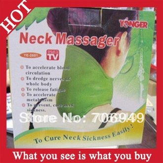 Free Shipping 48pcs Lady Neck Massager To Cure Neck Sickness Easily Health Care As Seen On TV -- MTV24 Wholesale(China (Mainland))