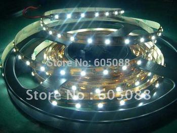 2pcs/lot warm white led ribbon 5m/reel 60leds/meter 300pcs SMD3528 LED single color flexible non-waterproof led strip light