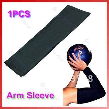 Arm Sleeve Cover UV Stretch Shooting Warmer Basketball Volleyball Bike Sports
