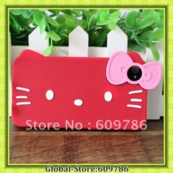 Hello Kitty Casing Back Covers for iphone4 iphone4S 4G freeshipping but drop ship accepted hot sell(China (Mainland))