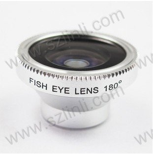 180 Degree Fish eye Wide Angle Lens Phone Camera(Hong Kong)