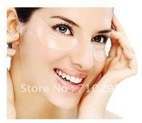 Wholesale Deck Out Women Crystal Eyelid Patch/Crystal collagen eye mask(1pack=2pcs) 100packs/lot