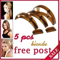 Hot selling  Bumpits Big Happie Hair Bump it up,Bumpit Hair Clip 50pcs/lot