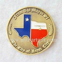 FREE SHIPPING, souvenir brass coins,customized metal coin,antique brass coins