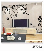 Free shipping:vinyl Wall sticker TV wall decals/room sticker/window stickers home decoration , JM7043, 50pcs mixed order