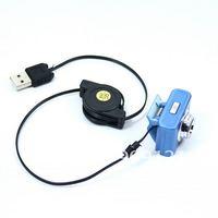 Wholesale 50 PCS/Lot  Protable Mini Size 5.0 MP USB Webcam Web Camera for Laptop w/Clip  Automatic Color Compensated