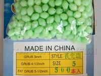 Free Air Post! 500pcs Per Lot #5 Fishing Glow Bead Green Wholesale Fishing Tackle