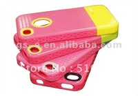 New arriver NICE mesh hard case for iPhone4 4s