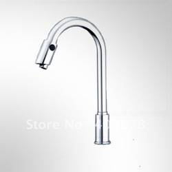 Free Shpping Kitchen Sink Water-saving Auto Mixer Automatic Sensor Electronic Faucet/Tap STRW6019(China (Mainland))