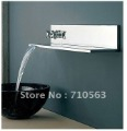 New Arrival! Dual Handles Chrome Wall Mounted Faucet  - Free Shipping (R-2015)
