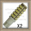2pcs/lot 68 SMD T10 LED Light Wedge 168 194 W5W Turn Corner Tail Stop Bulb White 12VDC  for sample