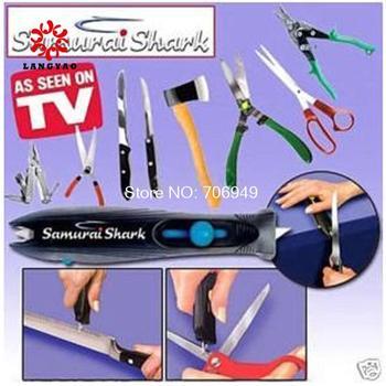 1pc New 2014 Personal Knife Shark Sharpener Kitchen Knives Sharpening Tools Blade For Samurai As Seen On TV -- MTV39