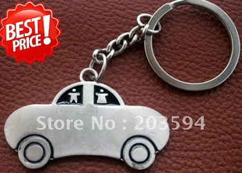 G8 Free shipping  car   Key Chain )Key Ring Cute Alloy Chain Best Gift for Lover Best Gift to Valentines 47*33mm