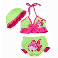 Wholesale 5sets/lot High quality two pieces Baby Swimwear Kids' beachwear for girls ETYY15 Free Shipping
