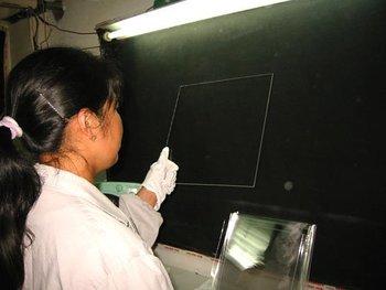 PMMA material Solar energy Fresnel Lens