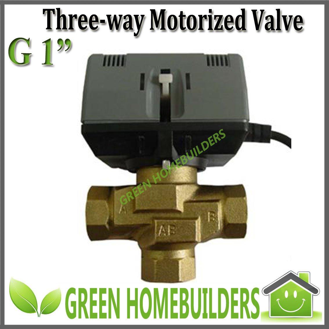 """G1"""" Three-way Motorised valve actuator hydraulic ,220VAC (24V/110V are available)(China (Mainland))"""