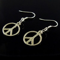 Hot!!Free Shipping retro fashion Tibetan silver earrings 18 pairs Factory outlets