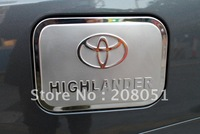 free shipping ! 2008-2011 TOYOTA Highlander stainless steel tank cover fuel tank cap auto gas cap