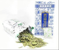 2013 100g West Lake Dragon Well Green lung ching Tea Chinese Xi Hu Longjing Tea with free shipment