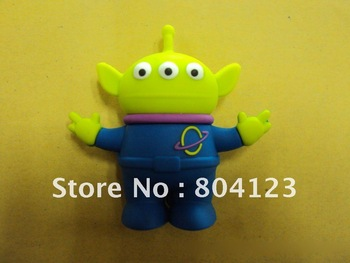 100% full capacity Toy Story space aliens USB flash Drive 1G 2G 4G 8G 16G 32G 64G  Free Shipping