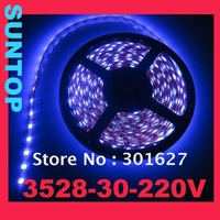 SMD3528,LED30,220V LED strip,5m per set
