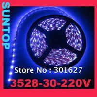 SMD3528,LED30,220V LED strip,5m per set